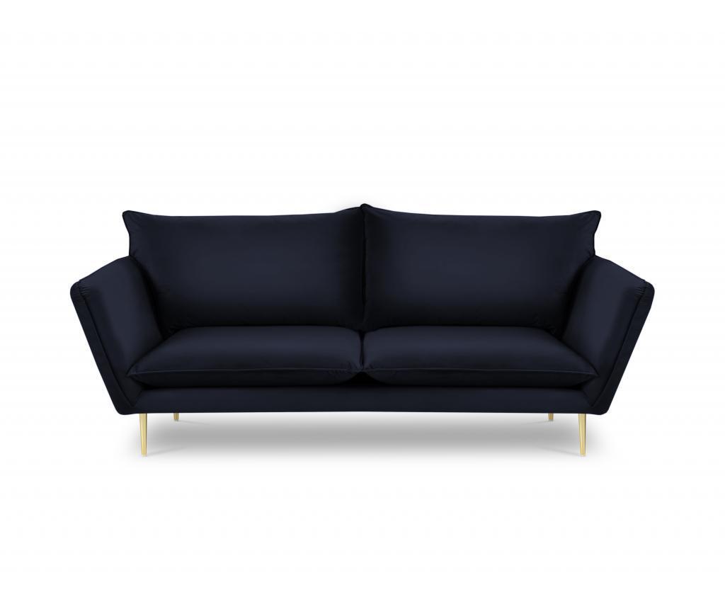 Canapea cu 4 locuri Verveine Dark Blue