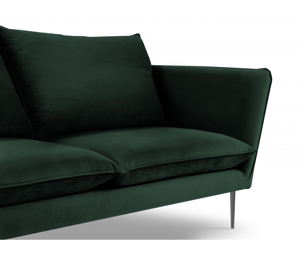 Canapea cu 4 locuri Verveine Bottle Green