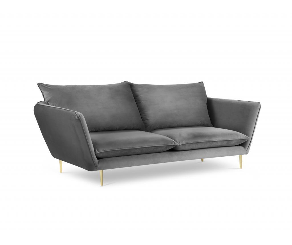 Canapea 4 locuri Verveine Light Grey