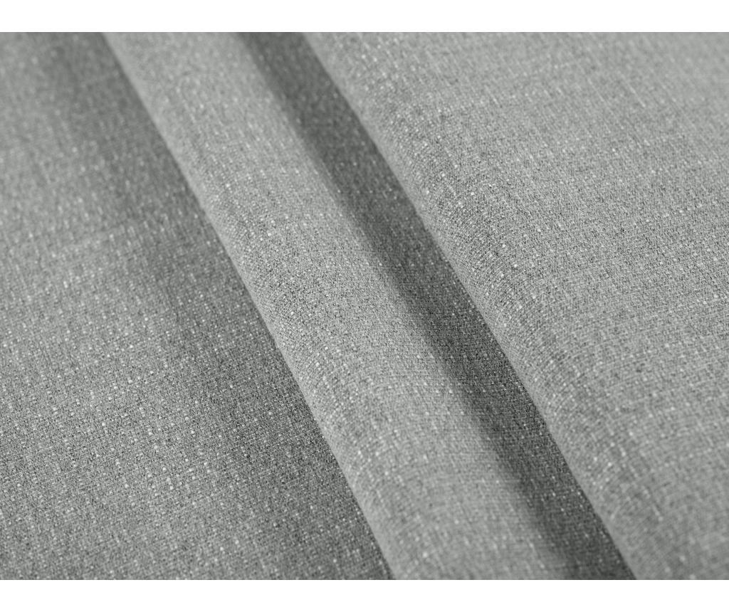 Aubrieta Grey Kihúzható baloldali sarokkanapé