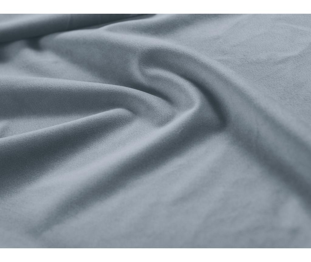 Raztegljiva leva kotna sedežna garnitura Hibiscus Light Blue