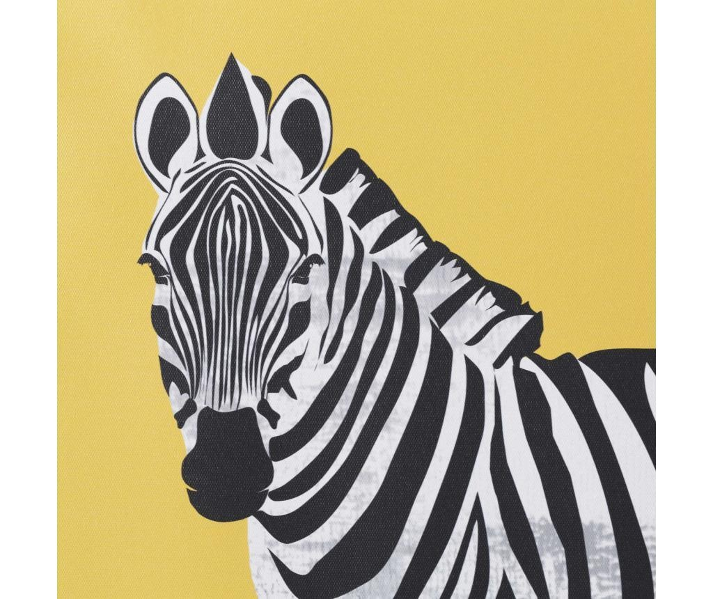 Set 2 tablouri Zebra 60x60 cm