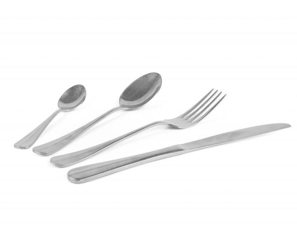 24-dijelni  pribor za jelo Vintage Steel