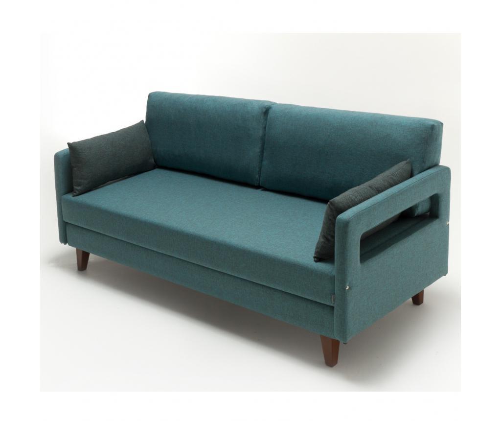 Rozkládací 3 místná pohovka Comfort Elite Turquoise