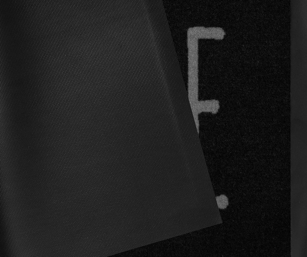 Covoras de intrare Printy Mood Anthracite Grey 45x75 cm