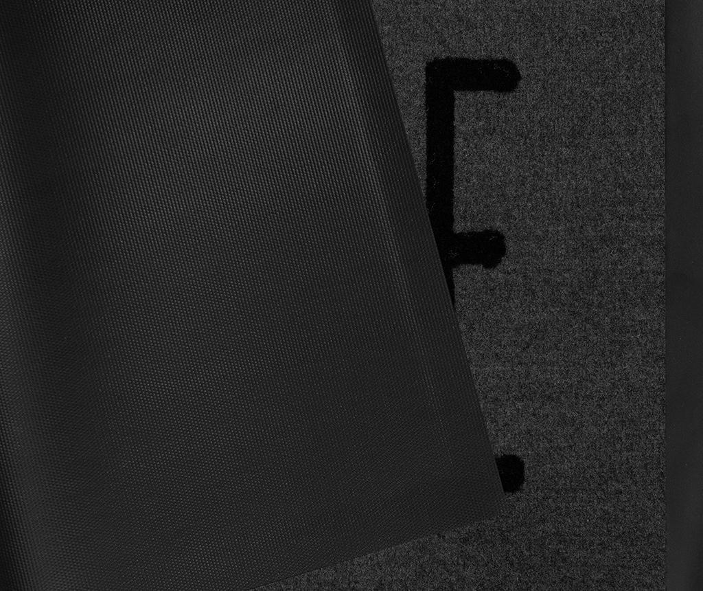 Predpražnik Printy Mood Grey Anthracite 45x75 cm