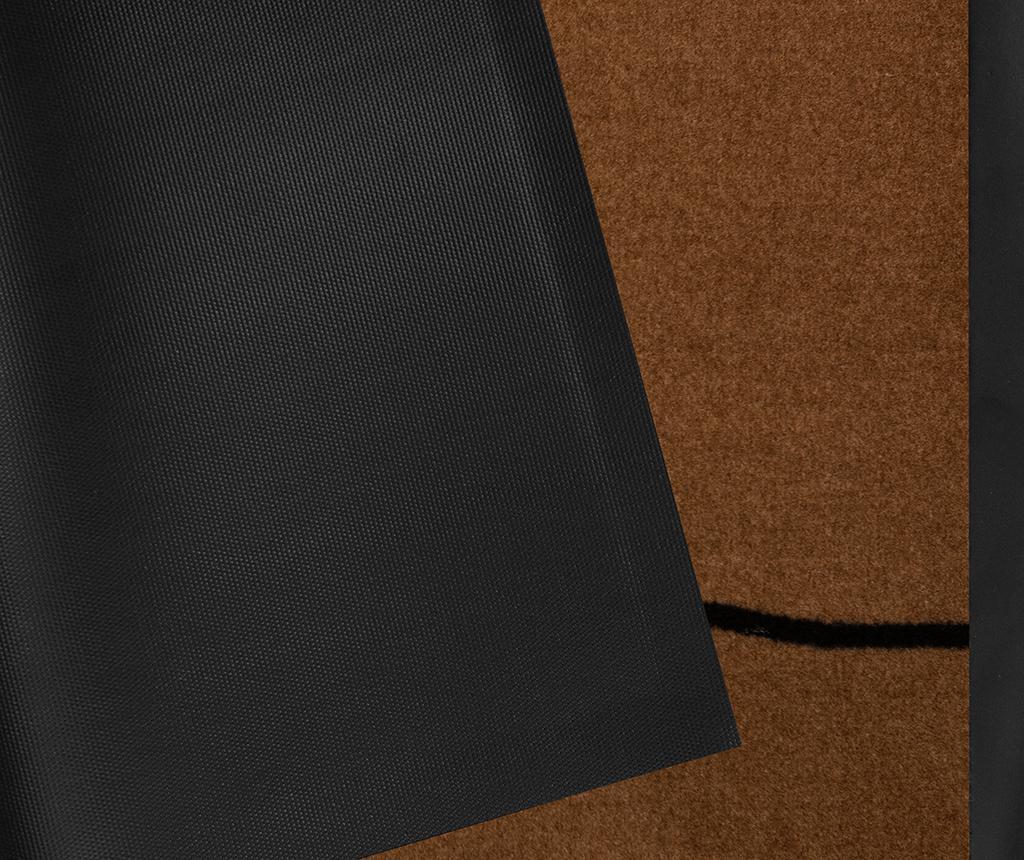 Predpražnik Printy Welcome Light-Brown Anthracite 45x75 cm