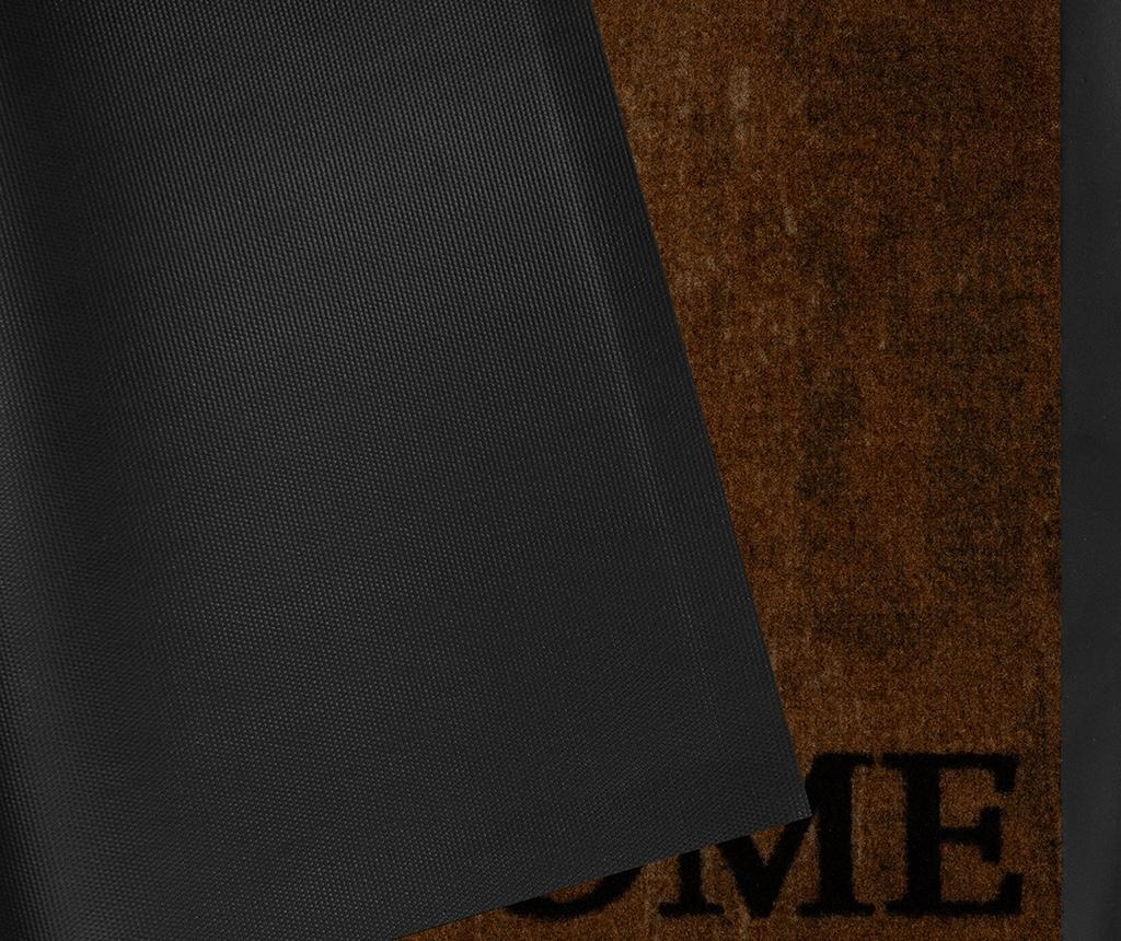 Covoras de intrare Printy Style Brown Anthracite 45x75 cm