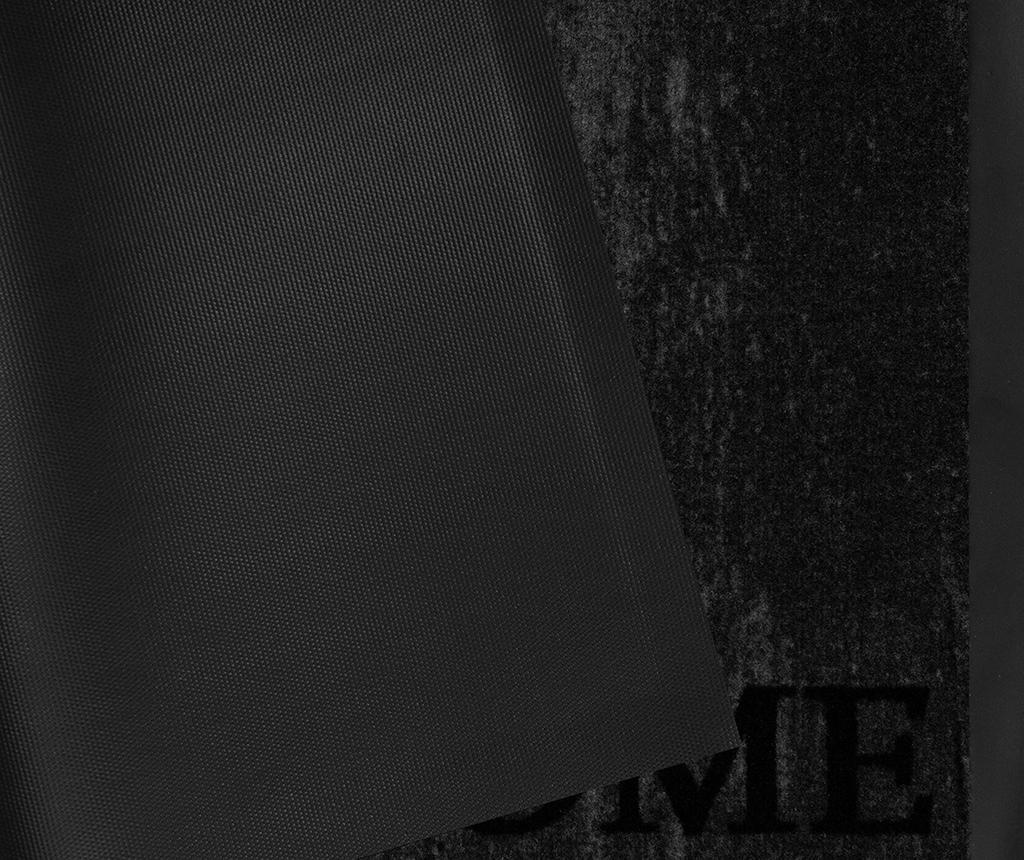 Printy Style Grey Anthracite Lábtörlő szőnyeg 45x75 cm