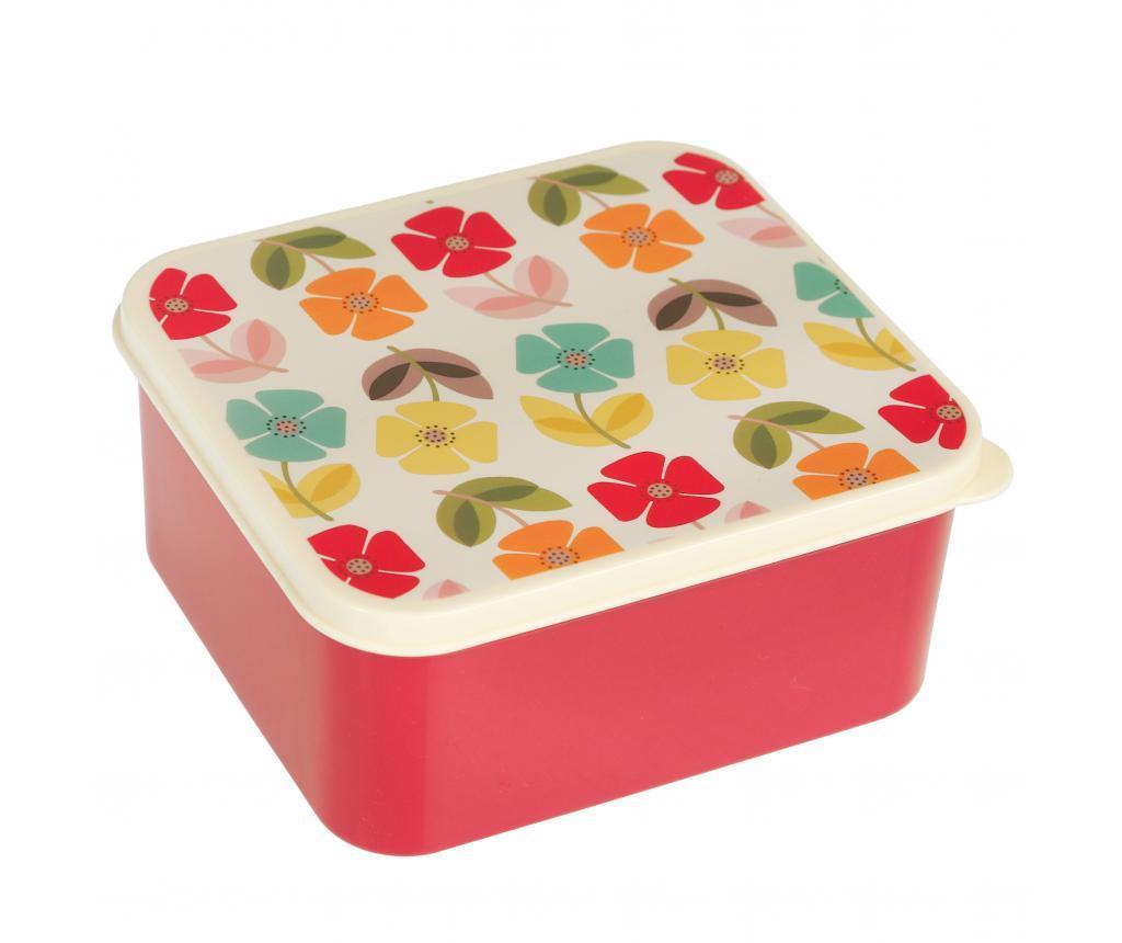Cutie pentru pranz Mid Century Poppy