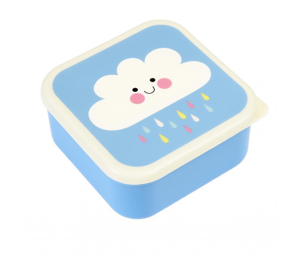 Set 3 caserole pentru mancare Happy Cloud