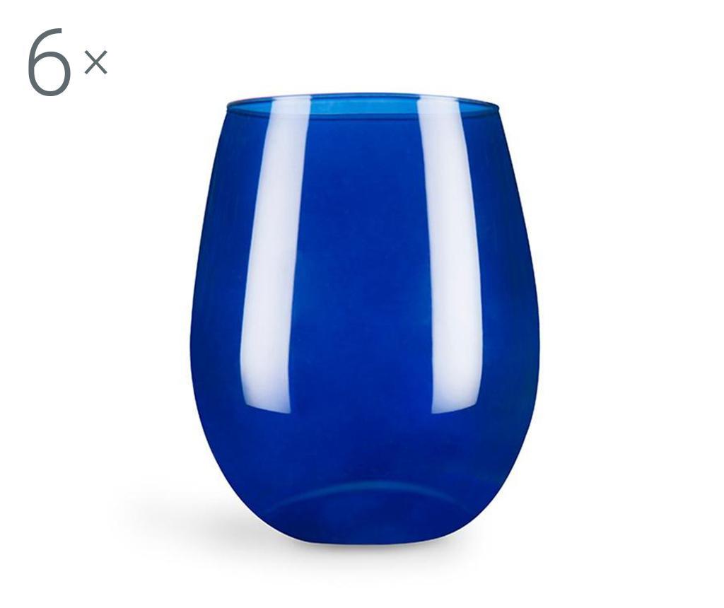 Set 6 pahare Cobalto 390 ml