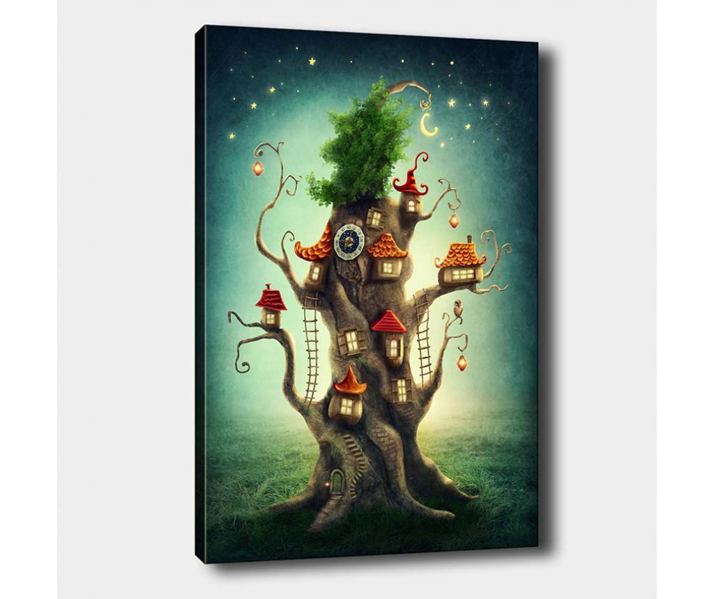 Slika Tree House 50x70 cm