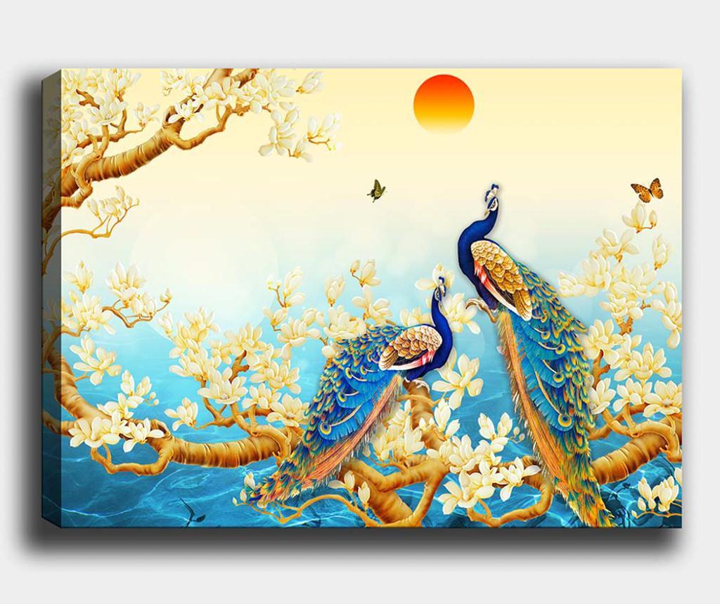 Obraz Peacocks 70x100 cm