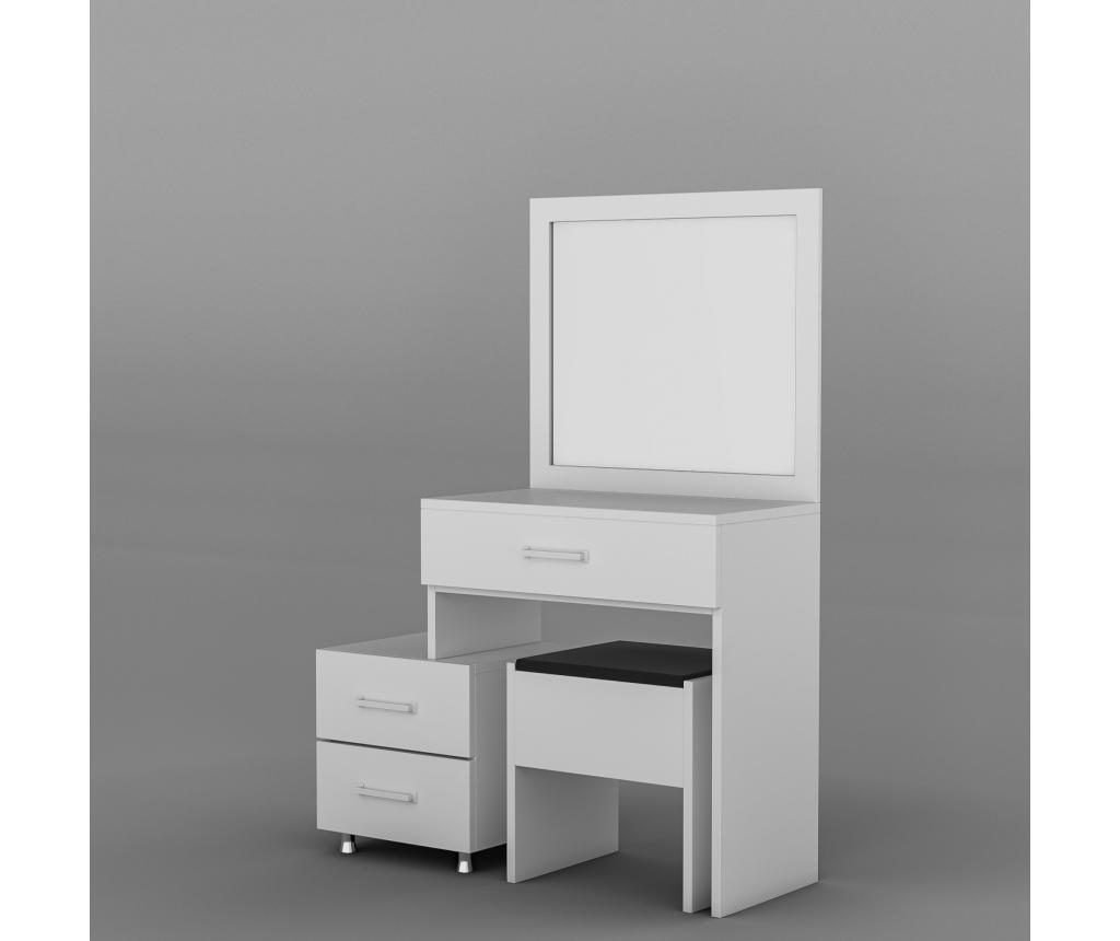 Toaletni stolić Alacati White