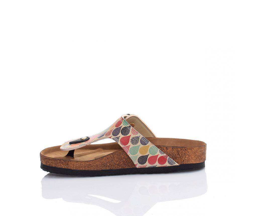 Papuci de plaja dama Drops 36