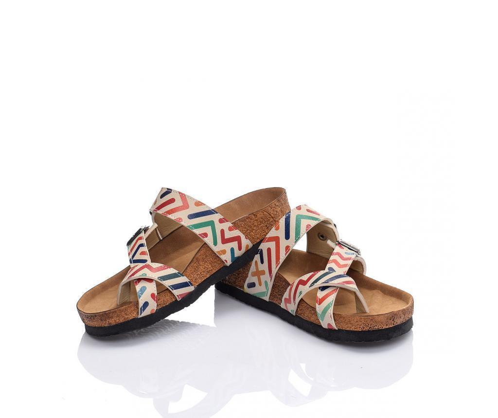 Papuci dama Zig Zag 38
