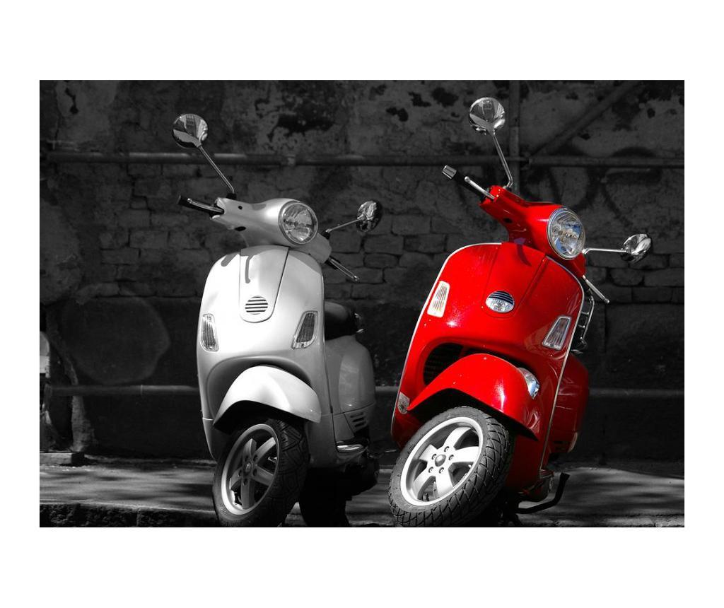Motorcycles Lábtörlő szőnyeg 52x75 cm