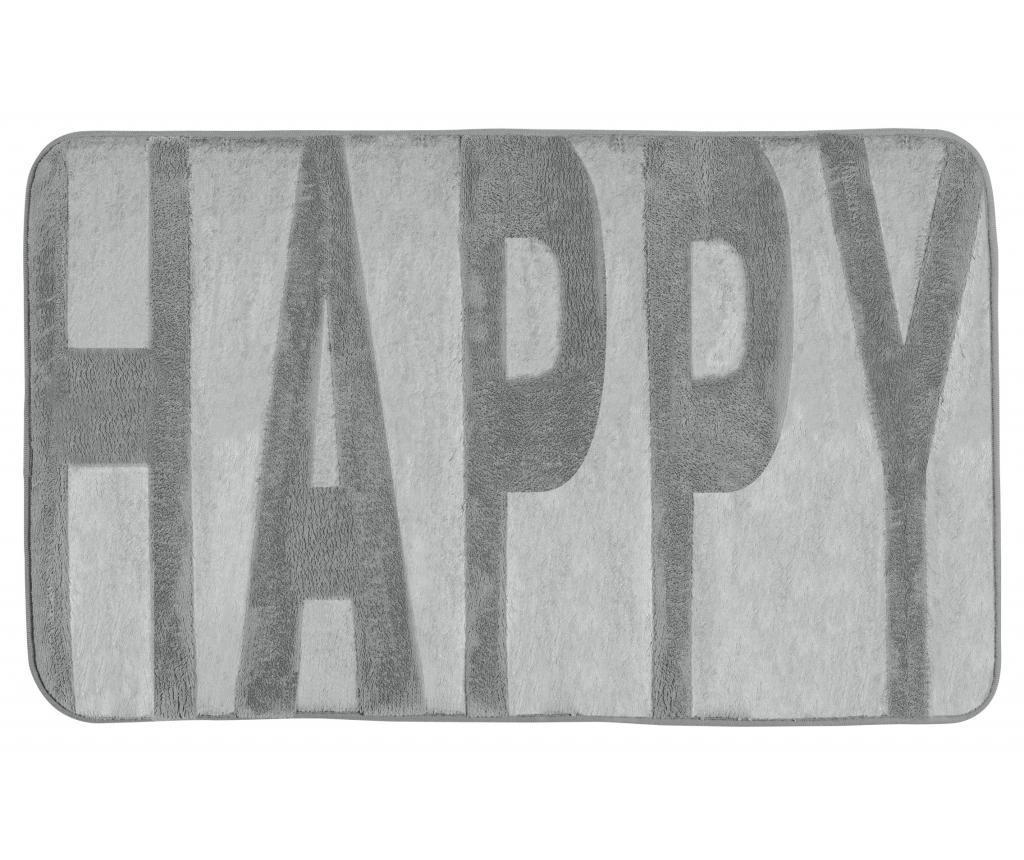 Covoras de baie Happy 50x80 cm