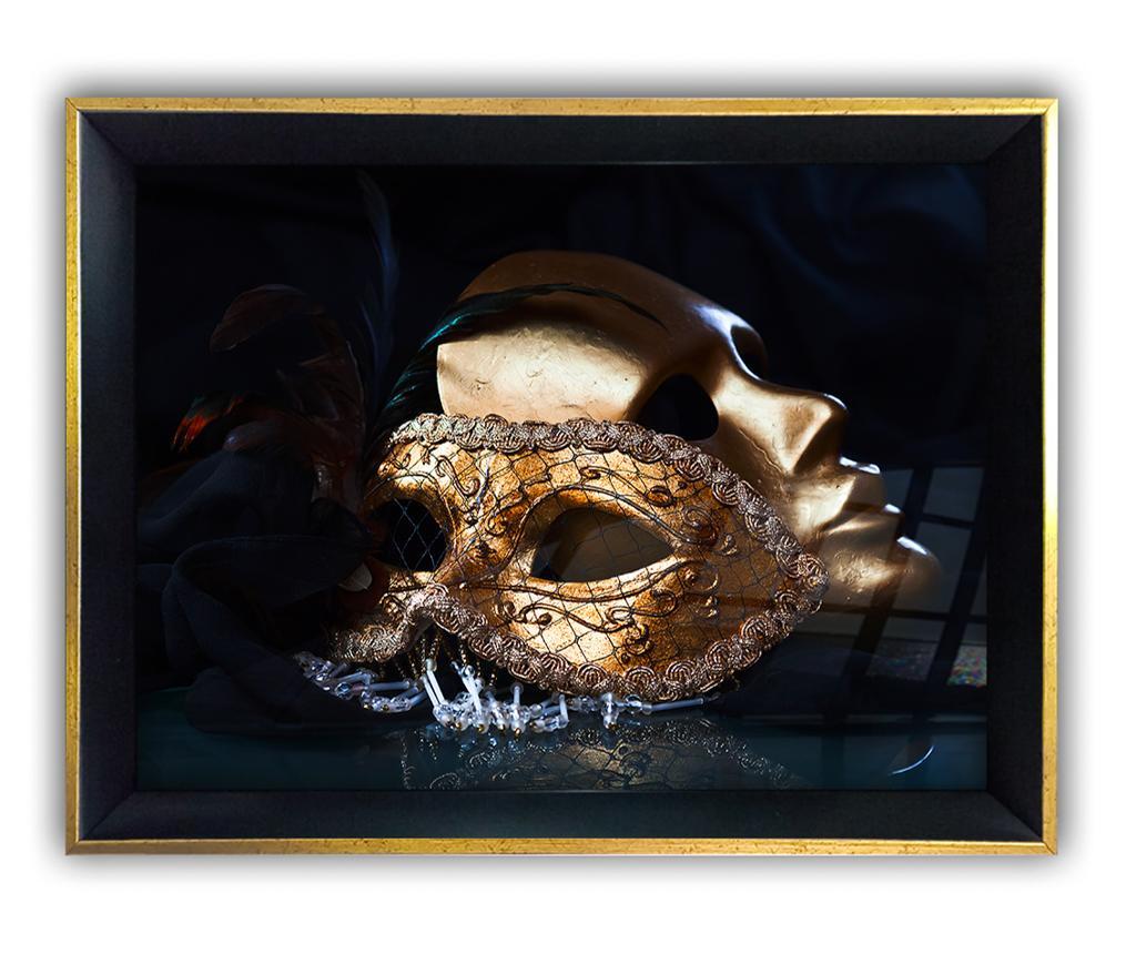 Πίνακας Mask 55x75 cm