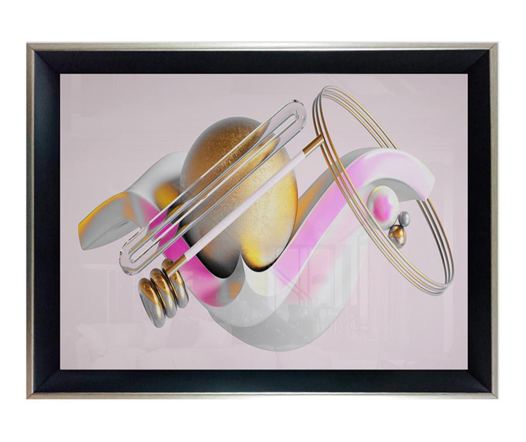 Yellow Ball Kép 45x65 cm