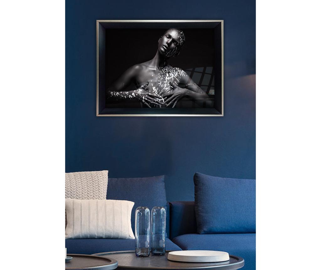 Whitewash Woman Kép 55x75 cm