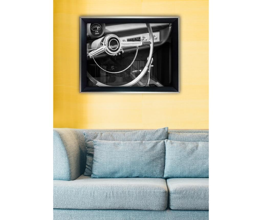 Steering Wheel Kép 45x65 cm