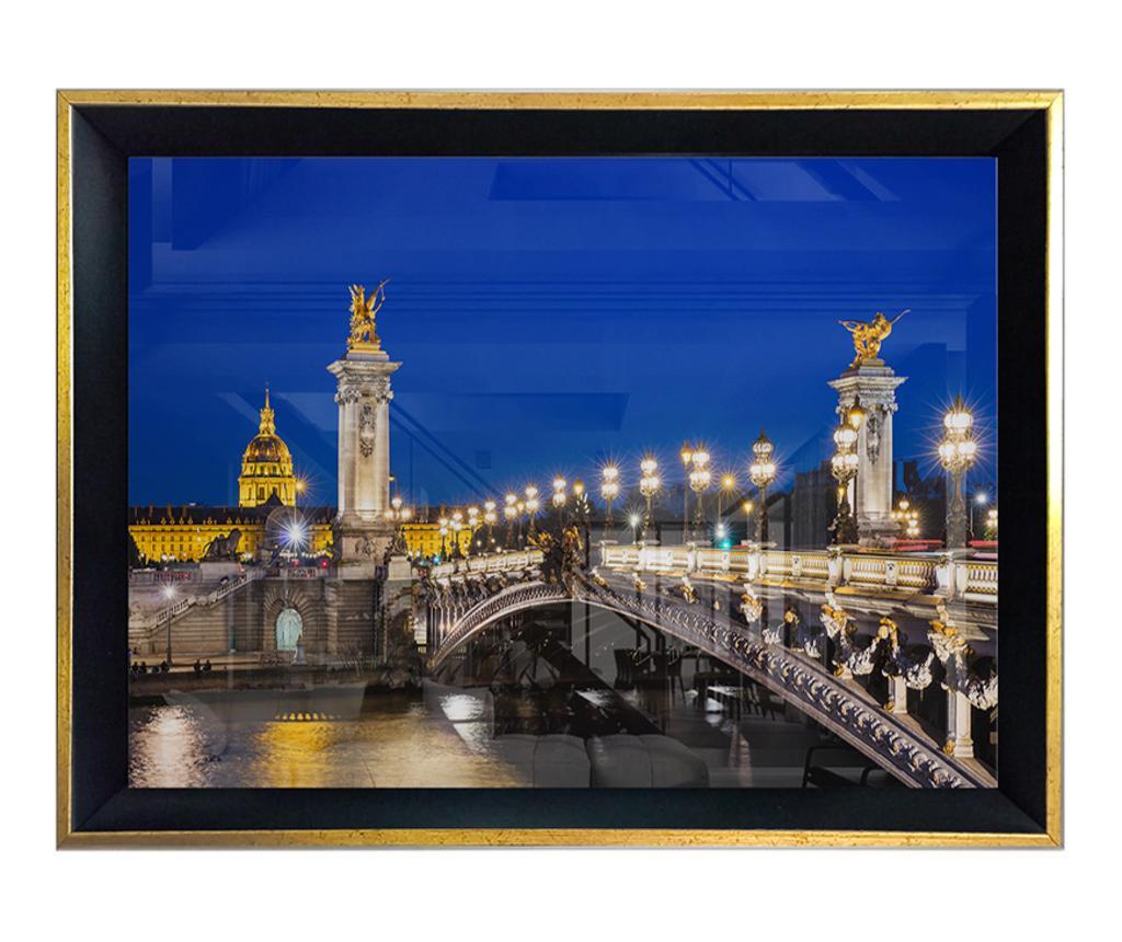 Slika Night Bridge Light 55x75 cm