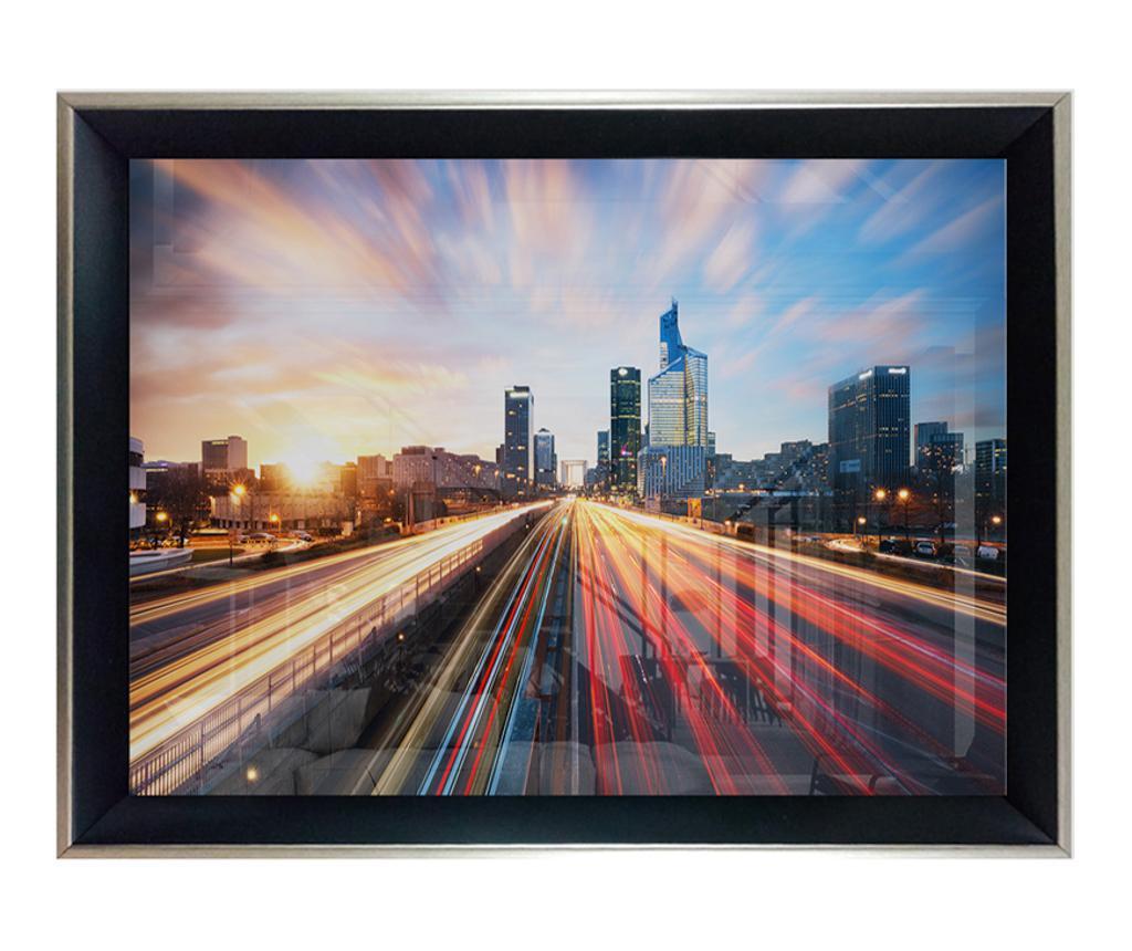 Slika City Light Highway 55x75 cm