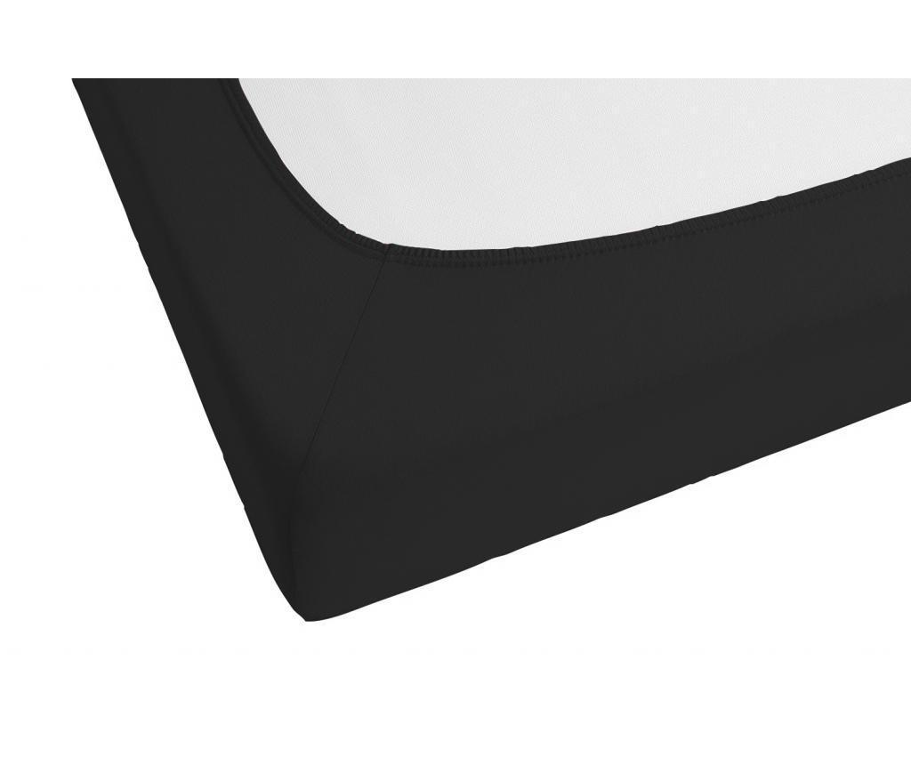 Black Gumis lepedő 180x200 cm