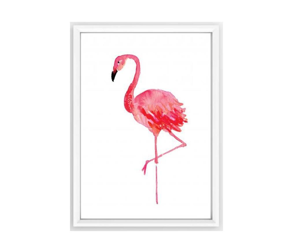 Tablou Flamingo 30x40 cm