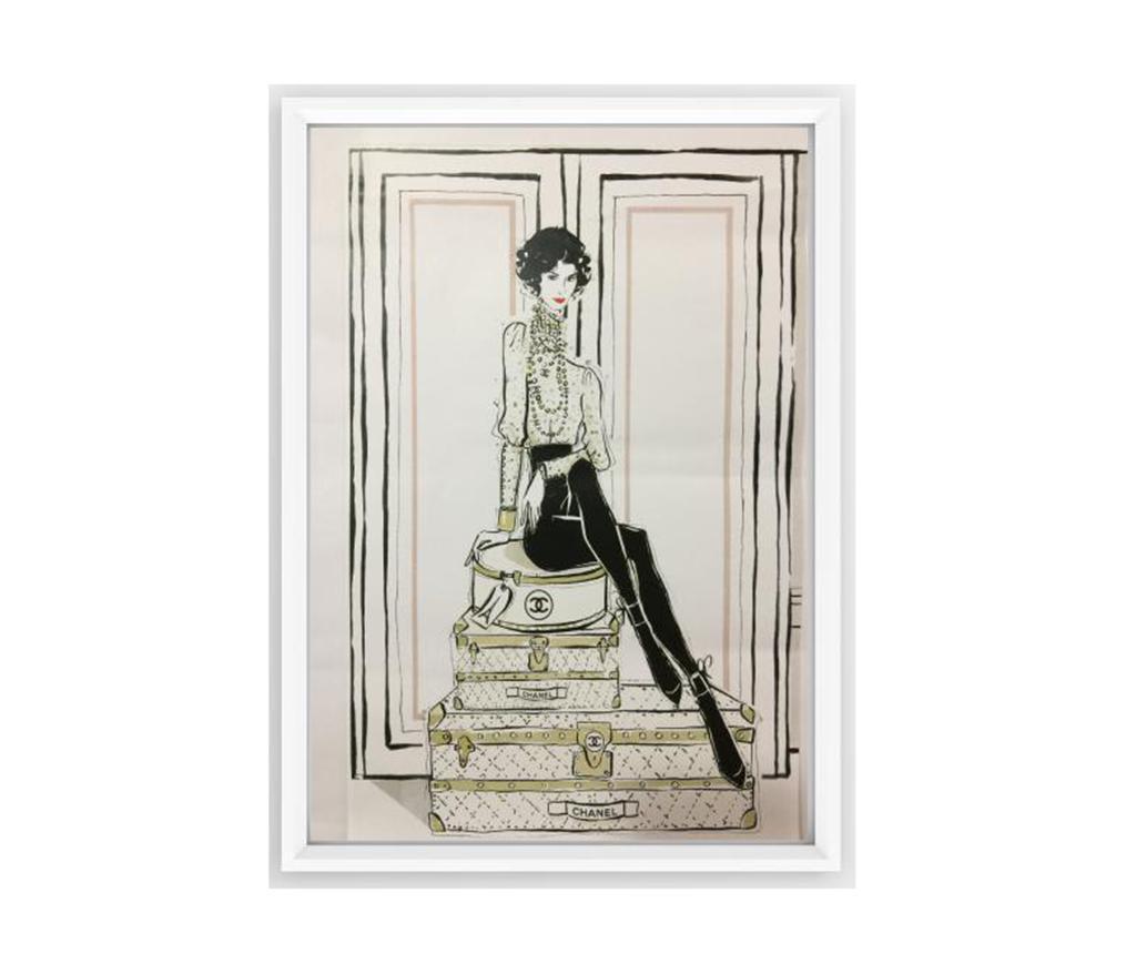 Slika Chanel Suitcases 23.5x33.5 cm