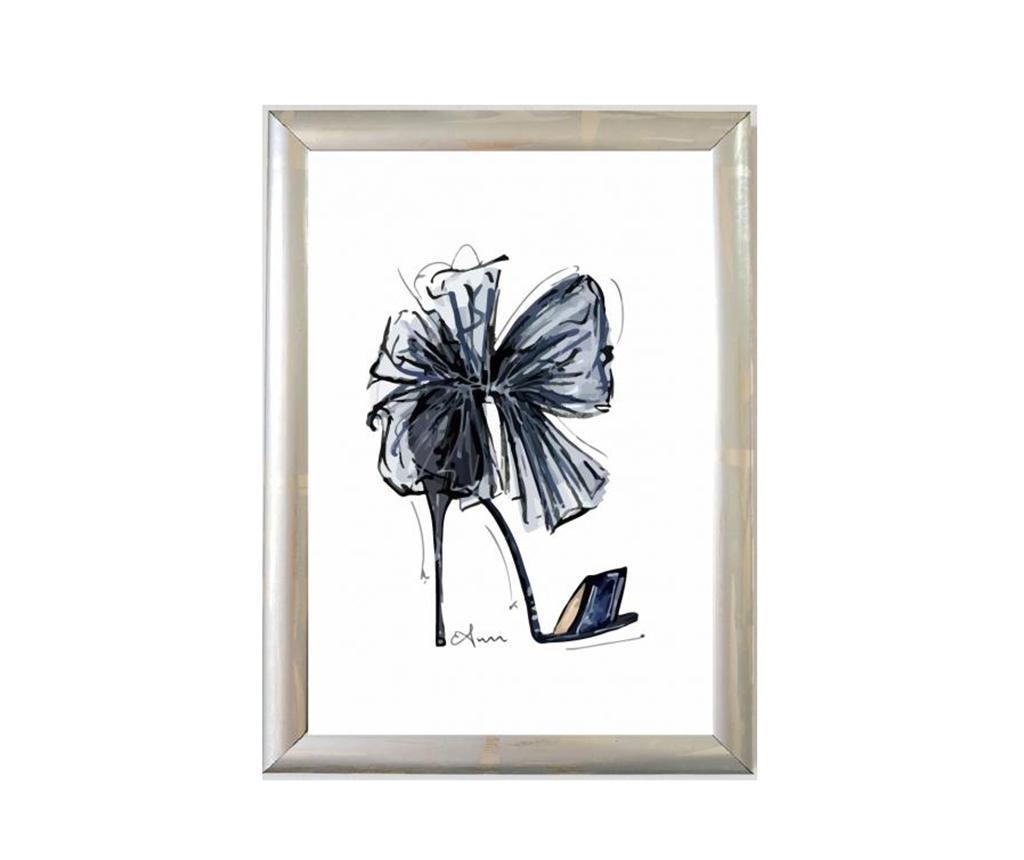 Πίνακας Black Shoes 23x33 cm
