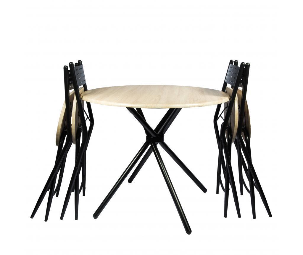 Kaliope Kültéri asztal és 4 db szék