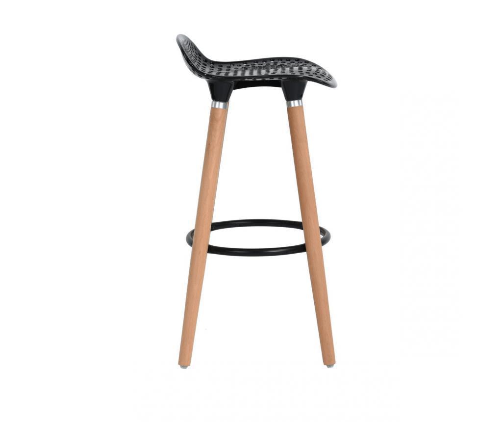 Set 2 scaune de bar Bonito Black