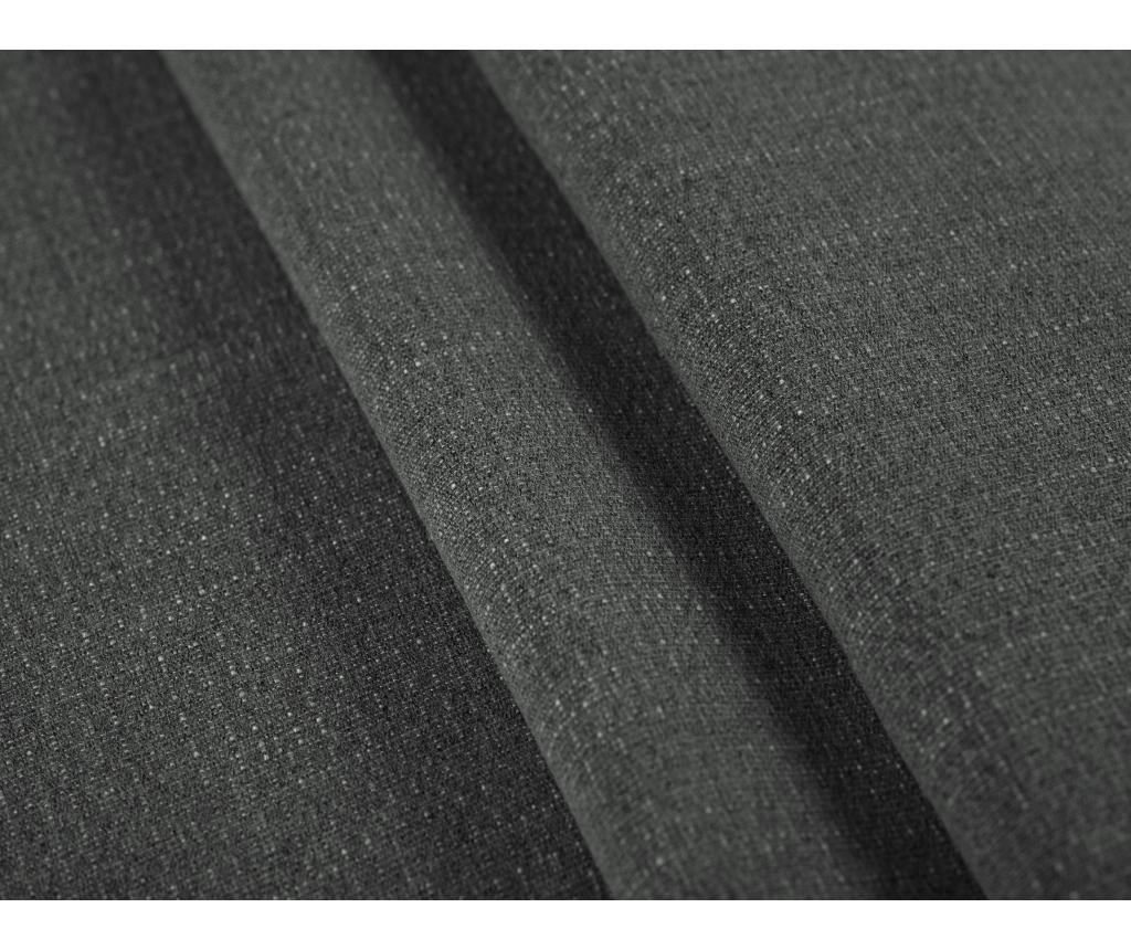 Sofa cu 2 locuri Antonio Dark Grey