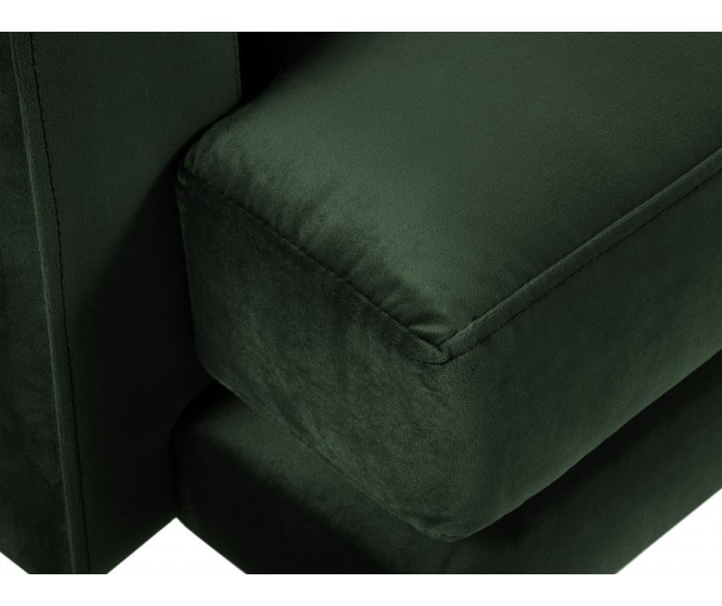 Canapea cu 2 locuri Brunello Bottle Green