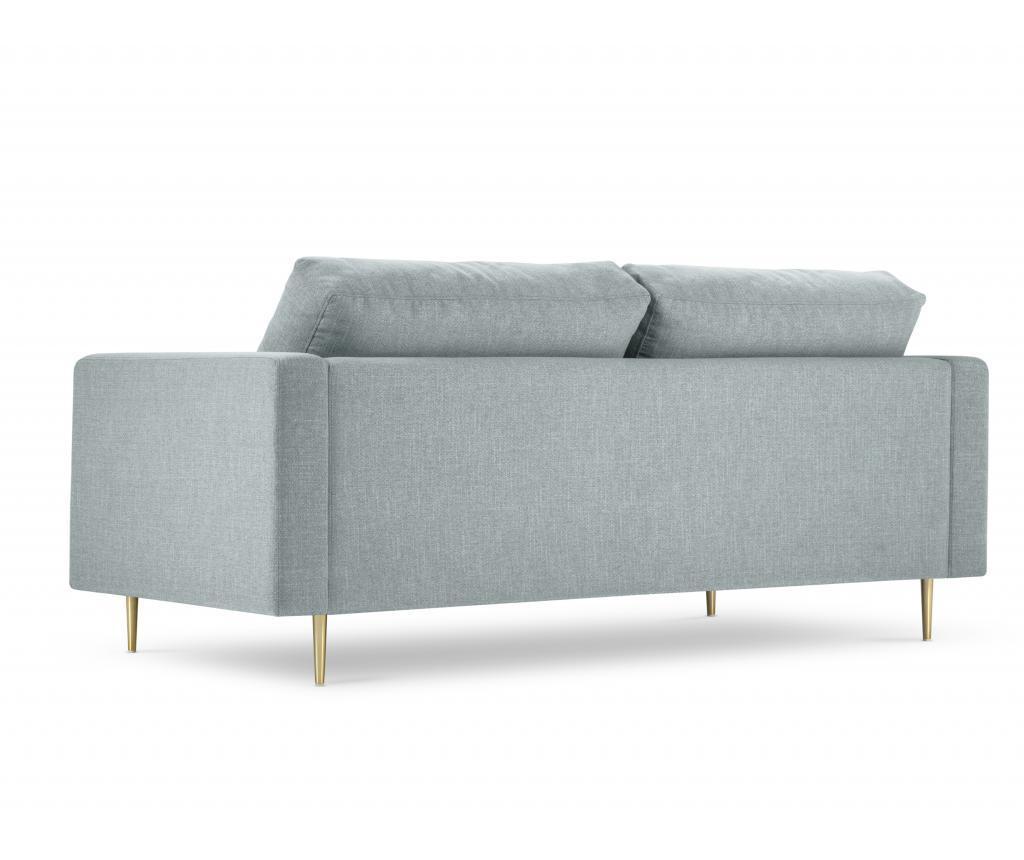 Canapea cu 3 locuri Flavio Light Blue