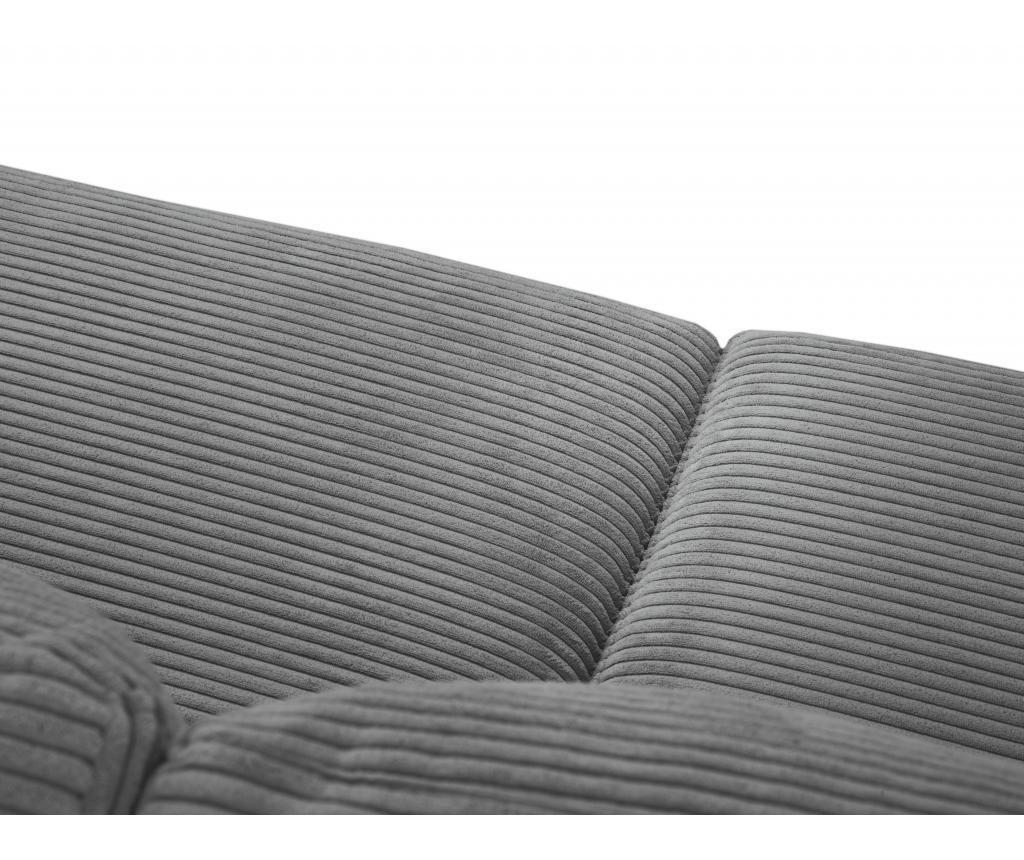 Coltar extensibil stanga Donatella Grey