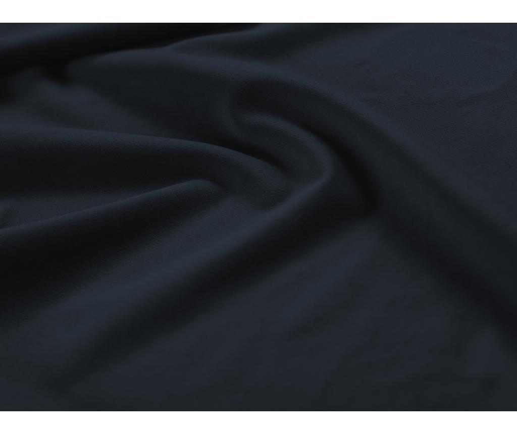 Valentina Dark Blue Baloldali kihúzható sarokkanapé