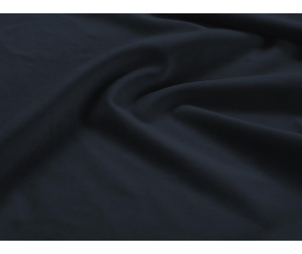 Valentina Dark Blue Jobboldali kihúzható sarokkanapé