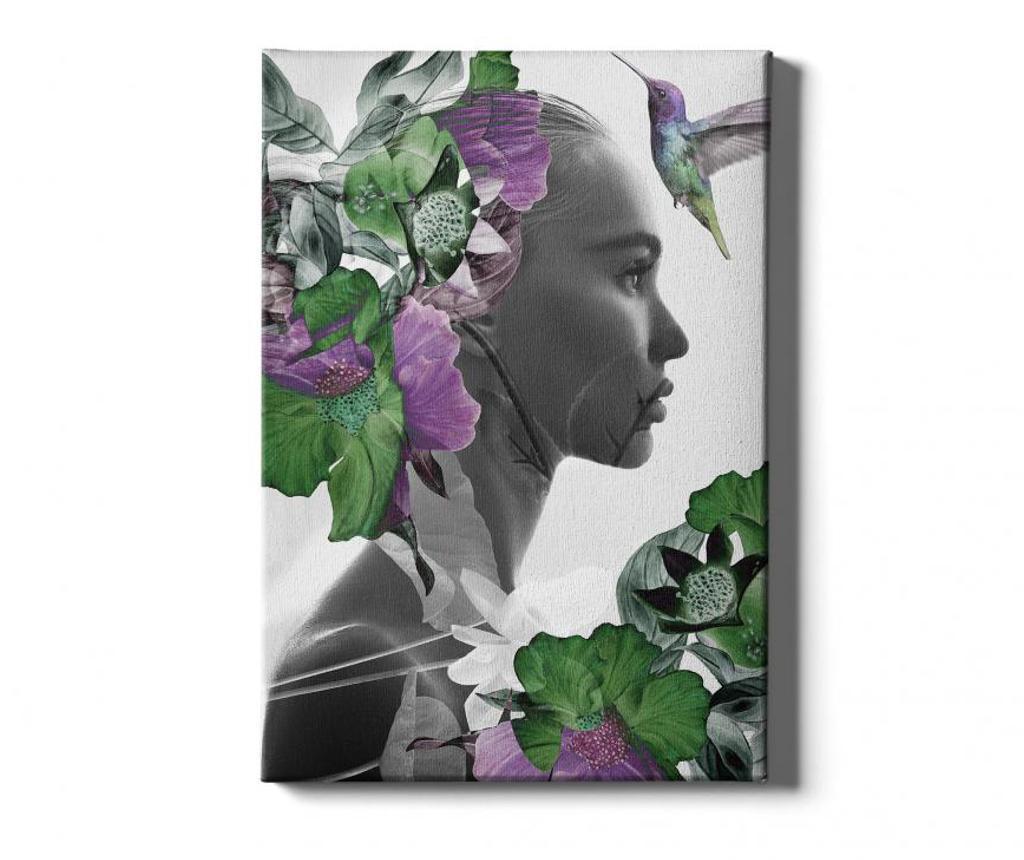 Πίνακας Woman 50x70 cm
