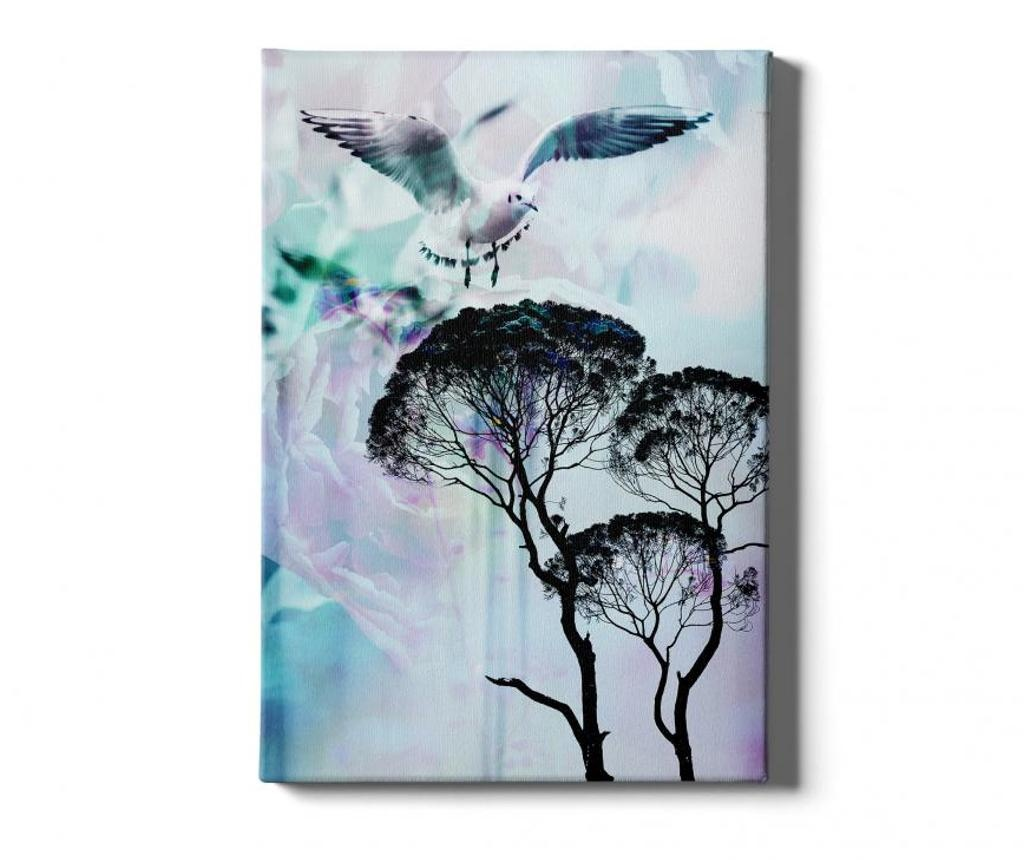 Slika Tree-Bird 40x60 cm