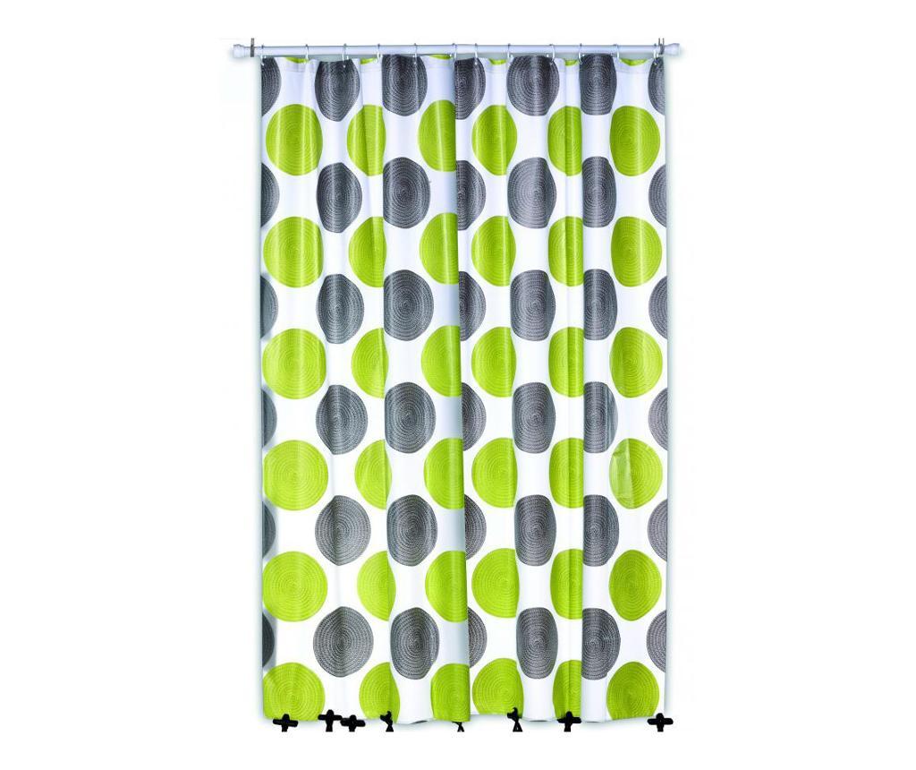 Zasłona prysznicowa Lamara 180x200 cm