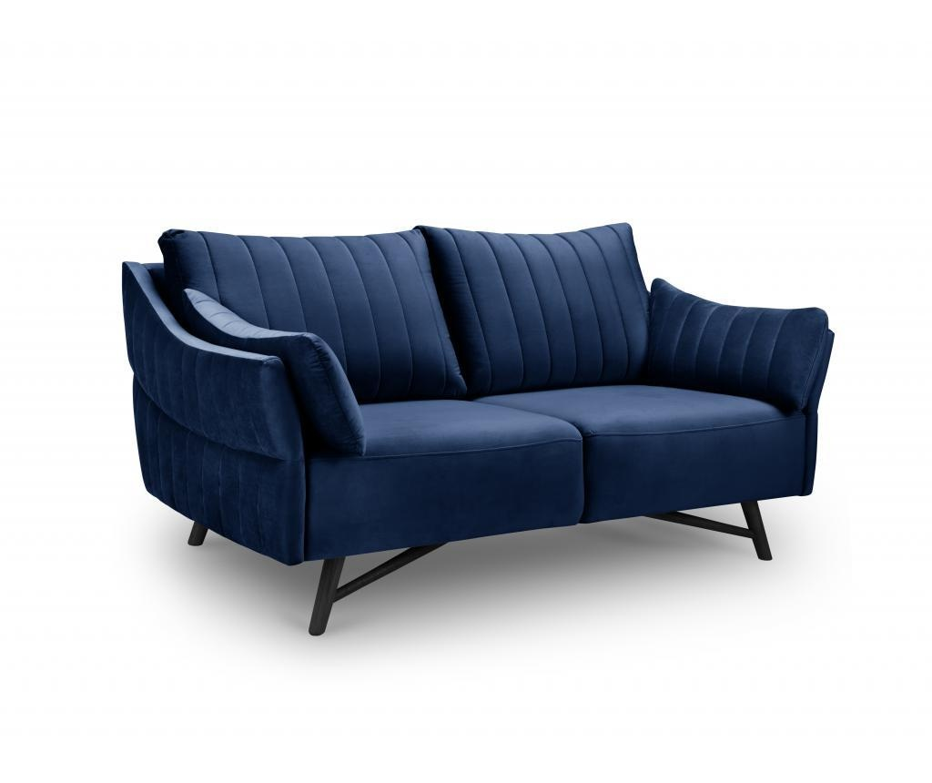 Canapea 2 locuri Louvres Royal Blue