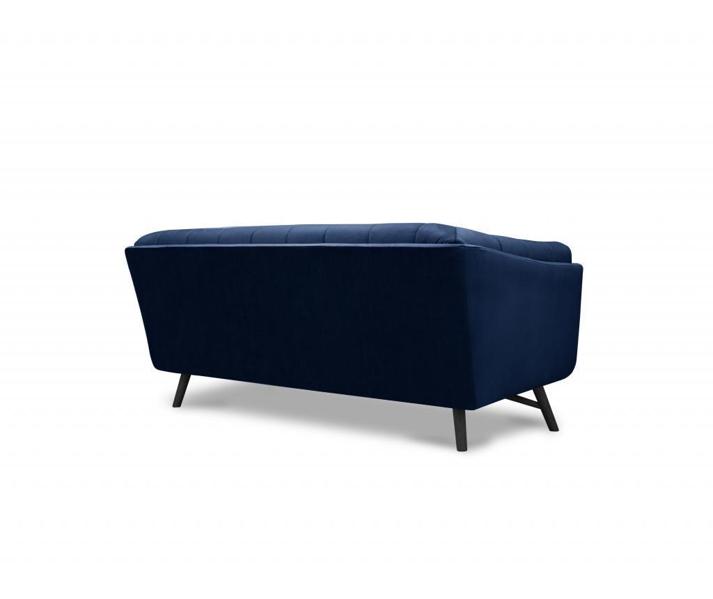 Canapea 2 locuri Lune Royal Blue