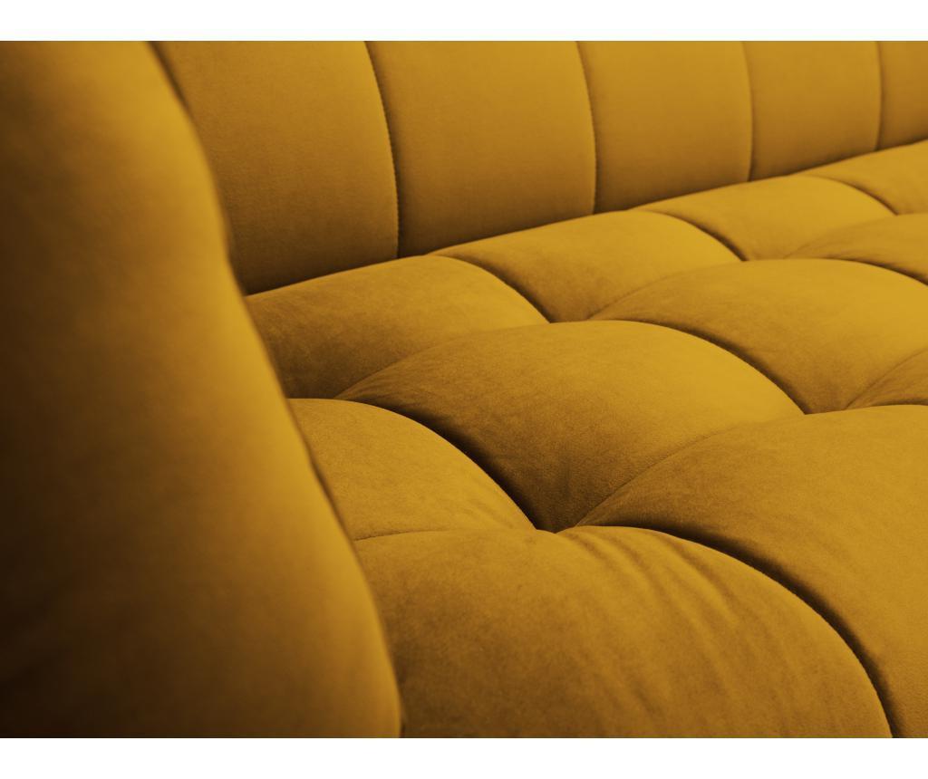 Canapea 2 locuri Lune Gold