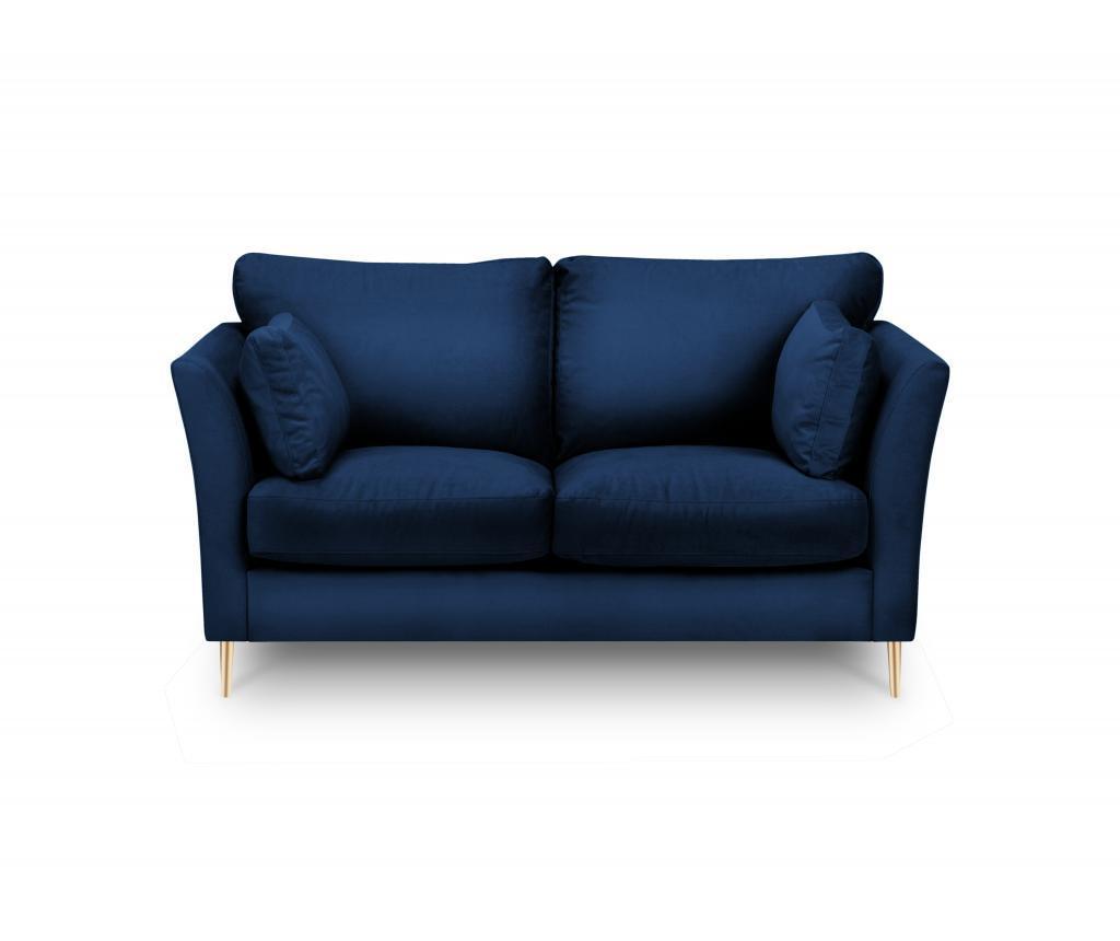Canapea 2 locuri Paris Blue