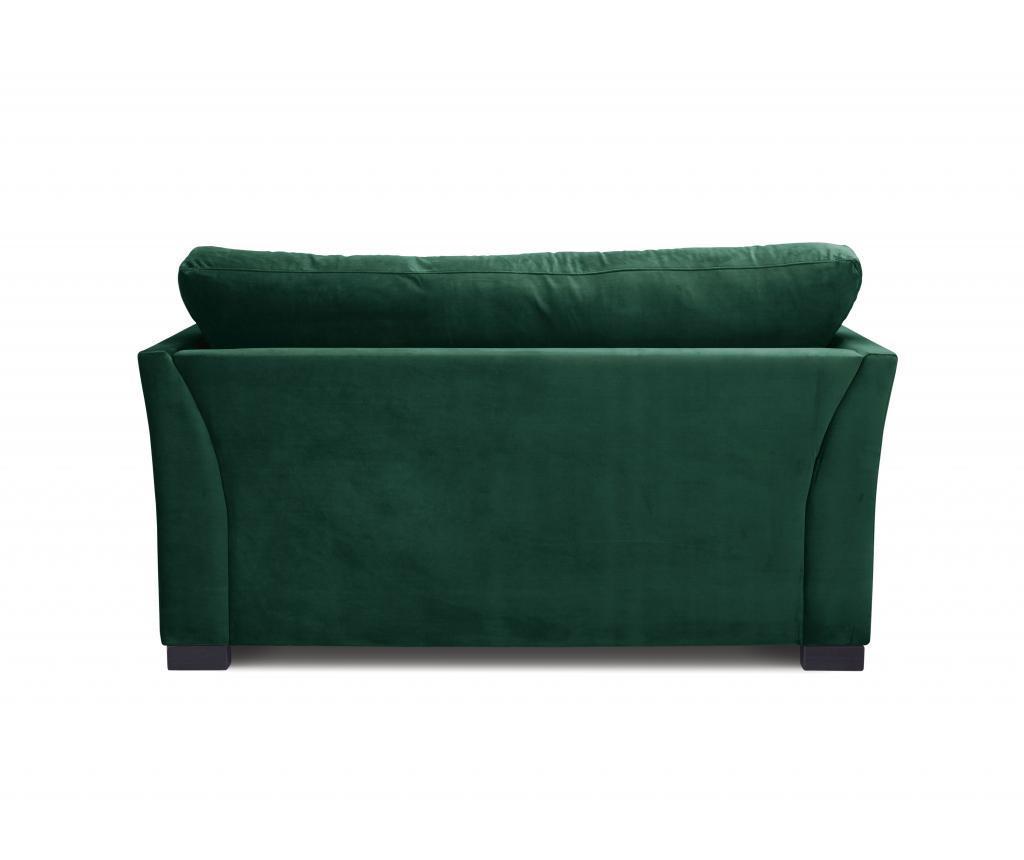 Canapea 2 locuri Times Bottle Green