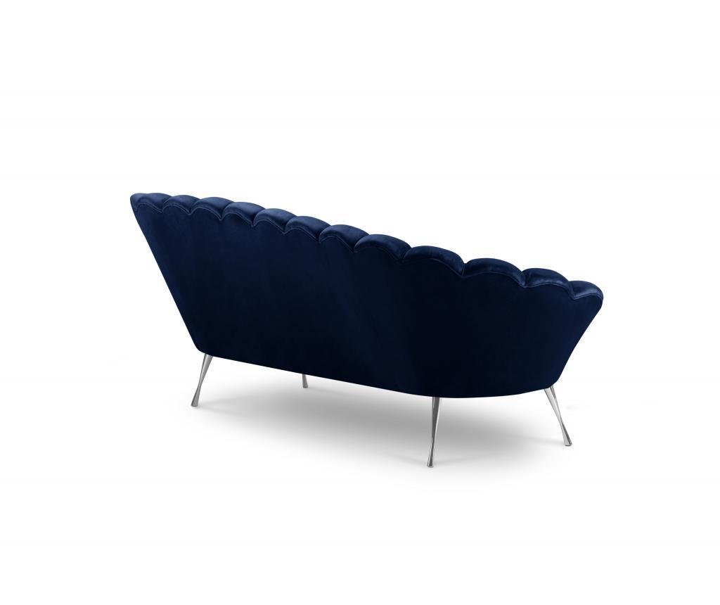 Canapea 3 locuri Avenir Royal Blue
